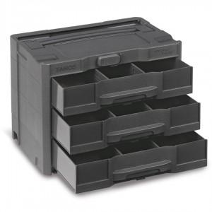 Sortainer T-Loc SYS-Sort IV met 3 laden