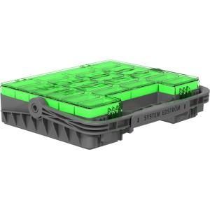Modulekoffer groen 300 x 352 x 82 mm (SE)