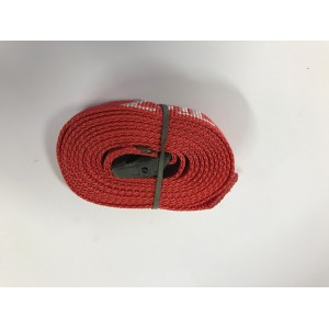 Spanband Tec 7 2 m rood