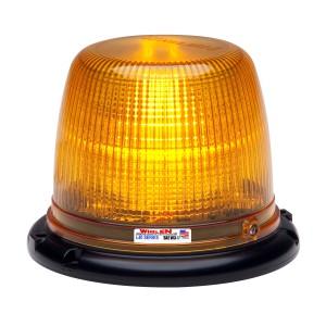 L41 zwaailamp LED, Amber (klare lens), R65 KL1, 12/24V