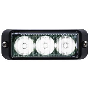 TIR3 LED Flitser, Wit, Horizontale montage
