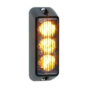 TIR3 LED Flitser, Wit, Verticale montage