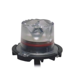 Vertex LED Flitser, Amber, R65 KL1
