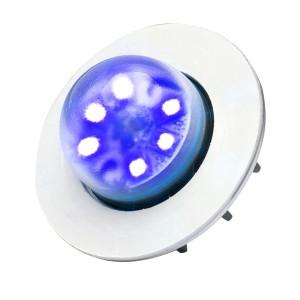 Vertex LED Flitser, Blauw, Omnidirectioneel